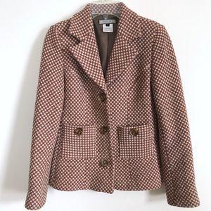 Jackets & Blazers - Vintage Woven Wool Blazer